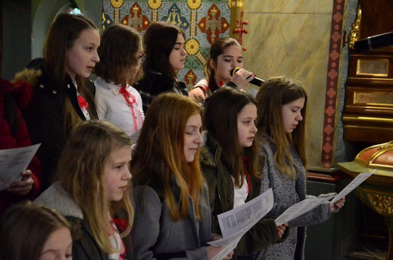 Koncert kolęd scholi parafialnej 6.01.2018