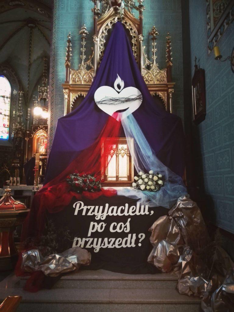 Grób Pański-  Ostrowy Tuszowskie i Przyłęk 2018