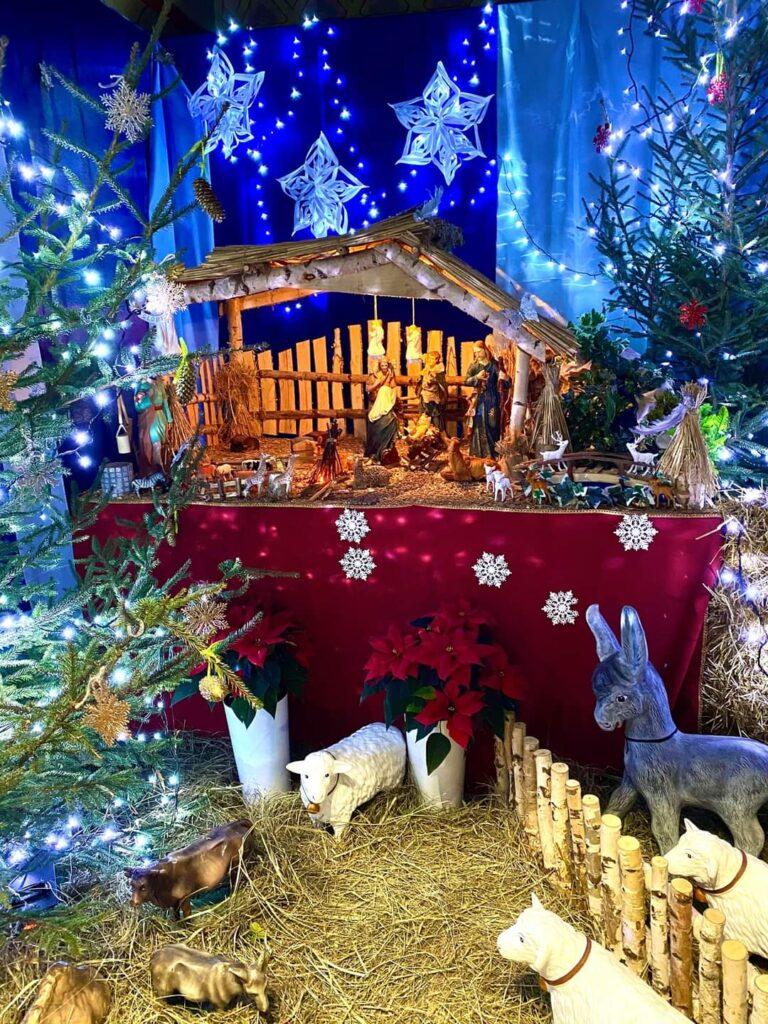 Świąteczny wystrój Sanktuarium